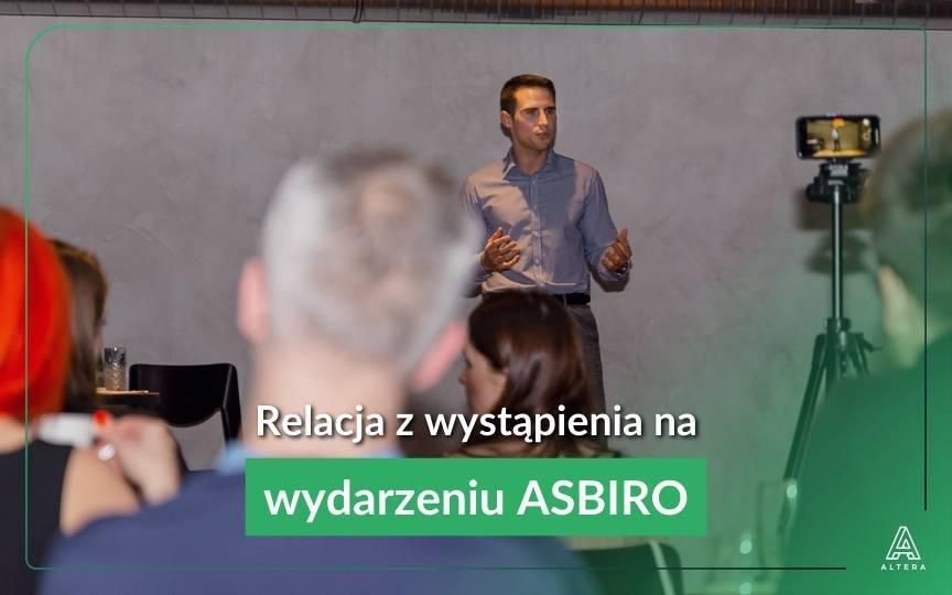 Wystąpienie gościnne na wydarzeniu ASBIRO