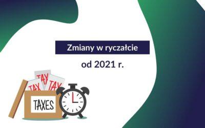 Ważne zmiany w ryczałcie od 2021 r.