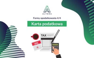 Karta podatkowa [Formy opodatkowania 4/4]