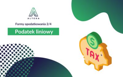 Podatek liniowy [Formy opodatkowania 2/4]
