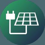 Ikona Przewody solarne (fotowoltaika)