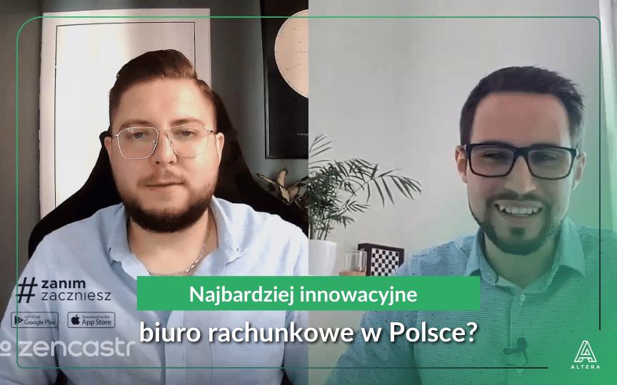 Najbardziej innowacyjne biuro rachunkowe w Polsce - Altera