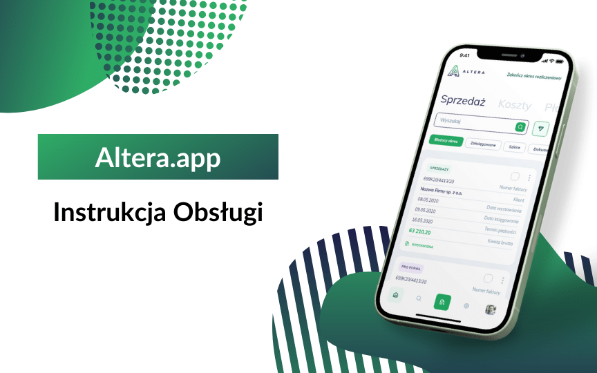 Altera.app – Instrukcja obsługi